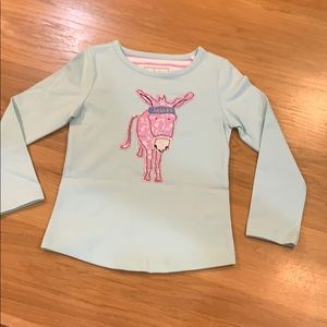 Joules ~Cute Donkey Long Sleeve T-Shirt ~ Size 3-4